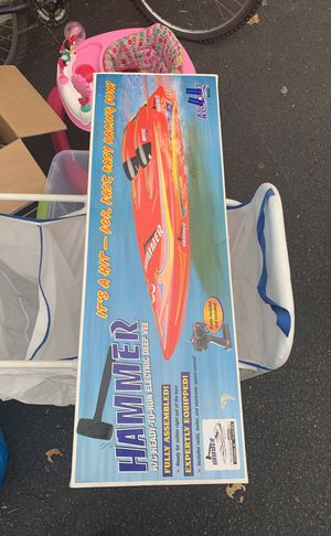 Racing boat toy for Sale in North Springfield, VA