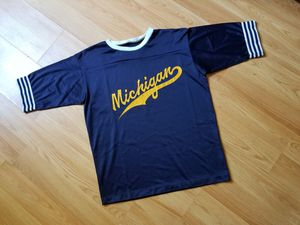 Vintage Michigan Jersey Football Mesh Blue Yellow for Sale in Washington, DC