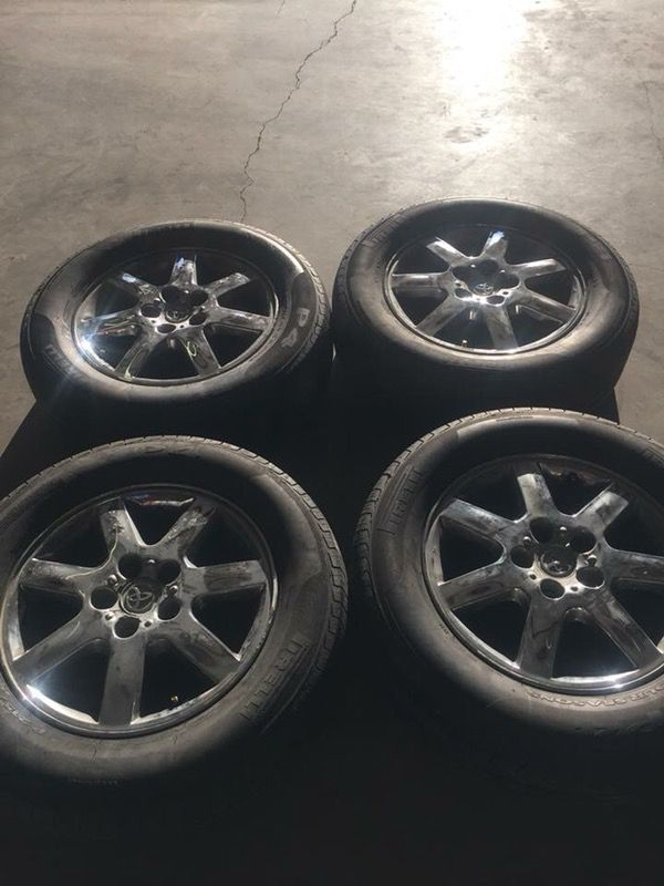Used 16 Toyota Wheels And Tires Pirelli