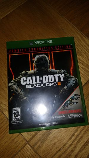 Call of duty black ops 3 for Sale in Silver Spring, MD