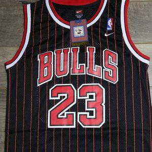 Photo 🔥Michael Jordan Bulls Pinstripe Jersey 2xl 🔥