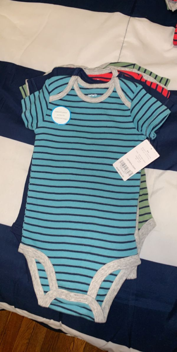 fd94b6b20 Brand New Carters Onesies 5 pieces, 6 months! for Sale in Brooklyn ...