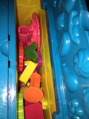 Play doh table and molds set for Sale in Alexandria, VA