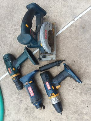 Ryobi drills and saw 18 volt for Sale in Kissimmee, FL