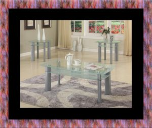 Glass white coffee table for Sale in Mount Rainier, MD