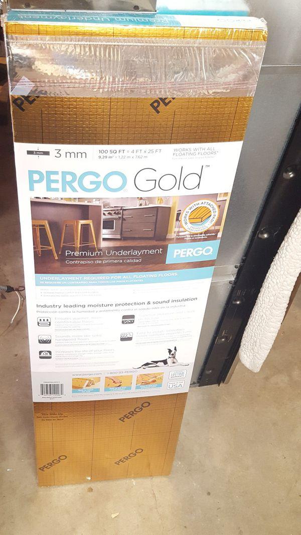 Pergo Gold Flooring Underlayment For In Bonney Lake Wa Offerup