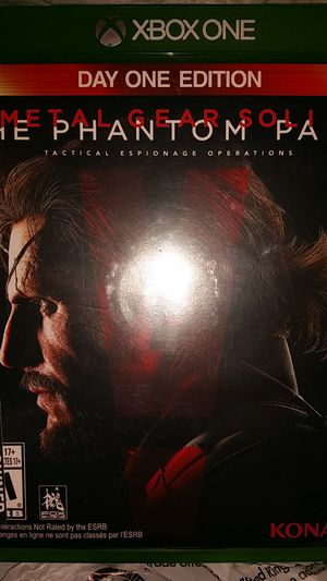 Metal Gear Solid V Xbox One for Sale in Orlando, FL