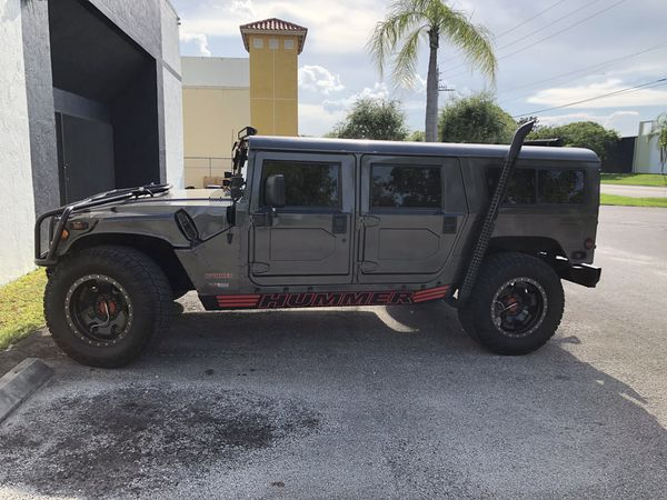 H1 hummer turbo diesel clean Florida title for Sale in Miami, FL - OfferUp
