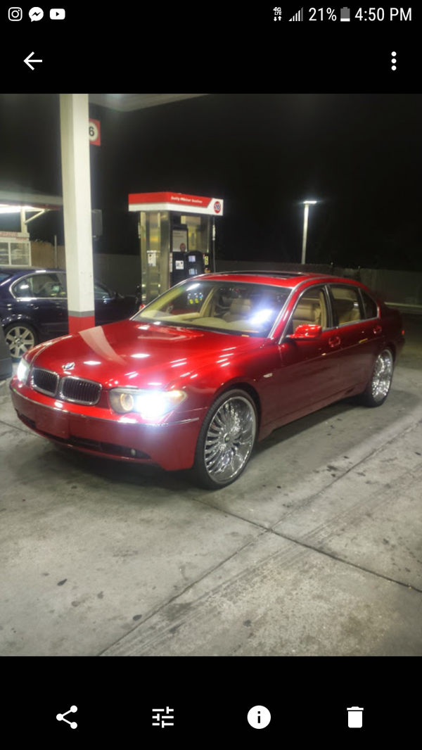 2004 745li On 24s For Sale In Alameda Ca Offerup