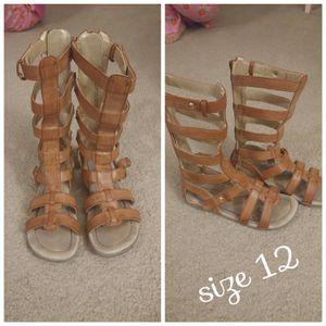 Girls gladiator sandals for Sale in Manassas, VA