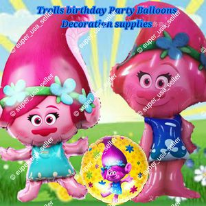 TROLLS BIRTHDAY PARTY DECORATION BALLOON SUPPLIES For Sale In North Las Vegas NV
