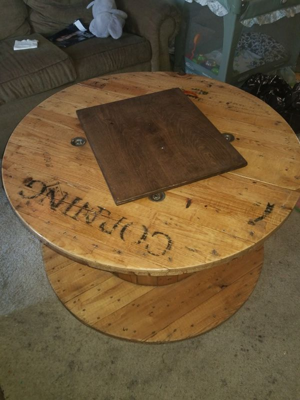 Cable Wheel Coffee Table For In Anaheim Ca Offerup