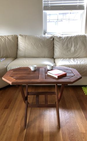Wooden coffee table for Sale in Falls Church, VA