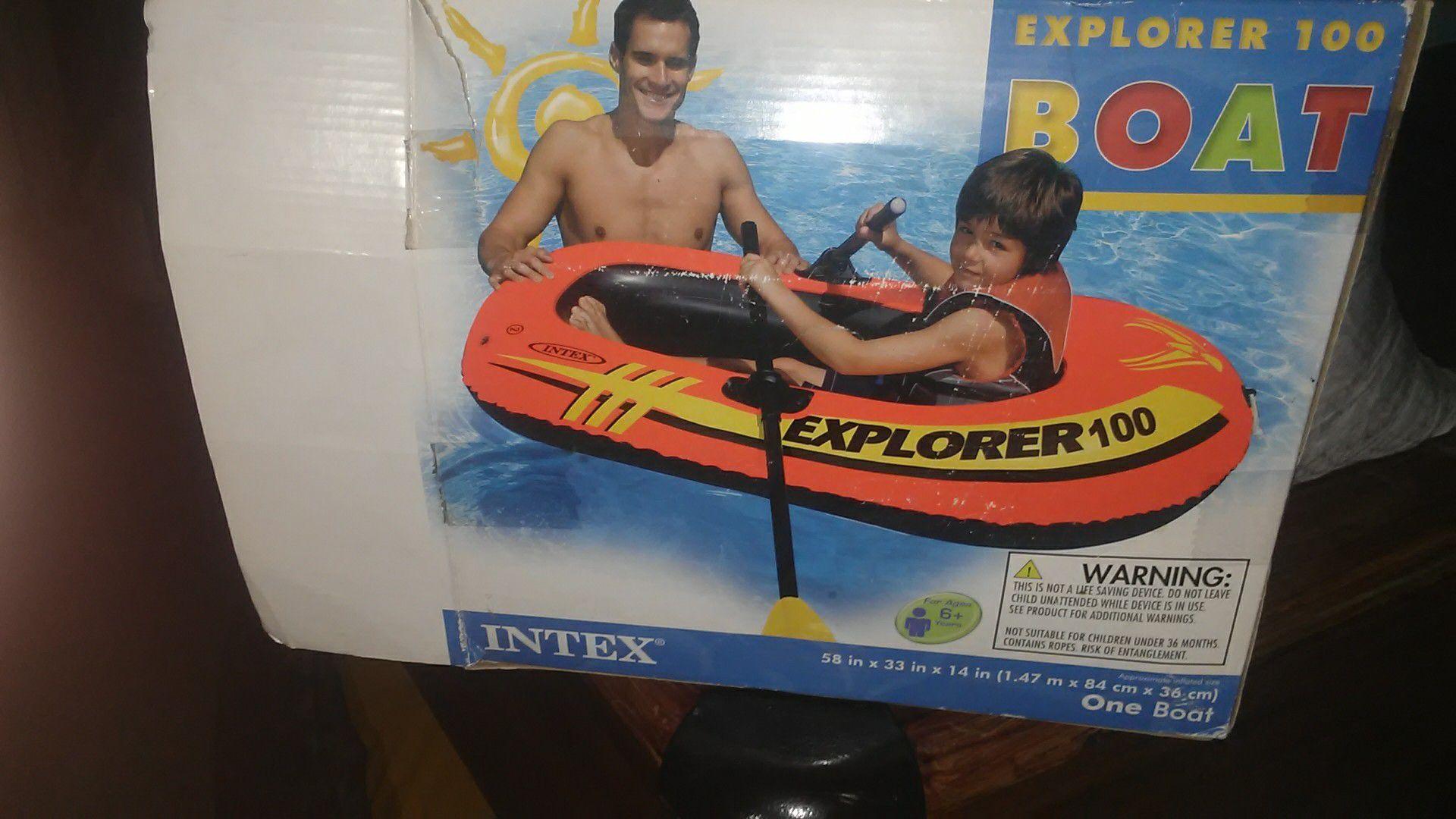 One explorer 100 boat