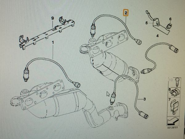 Bmw E46 Bank 2 Sensor 2 Location