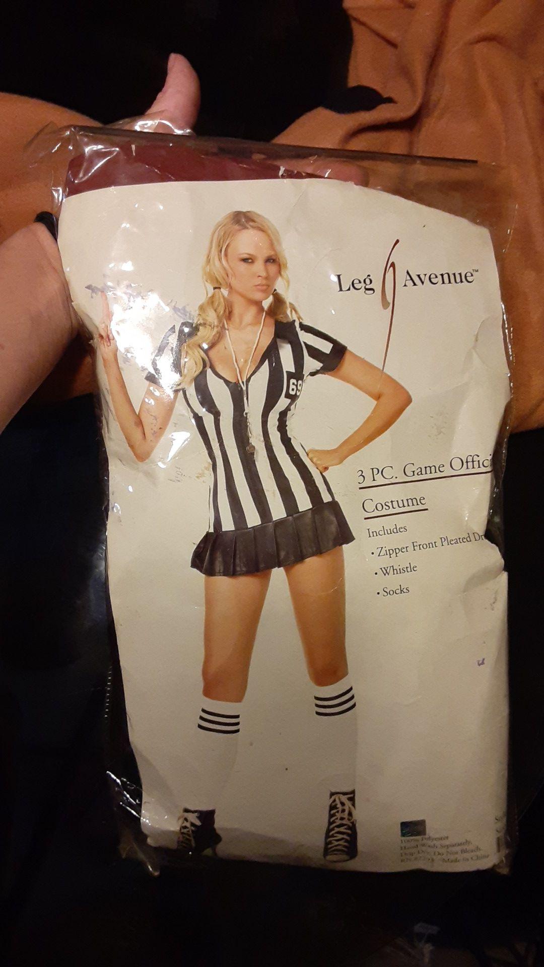 Women's sexy referee costume