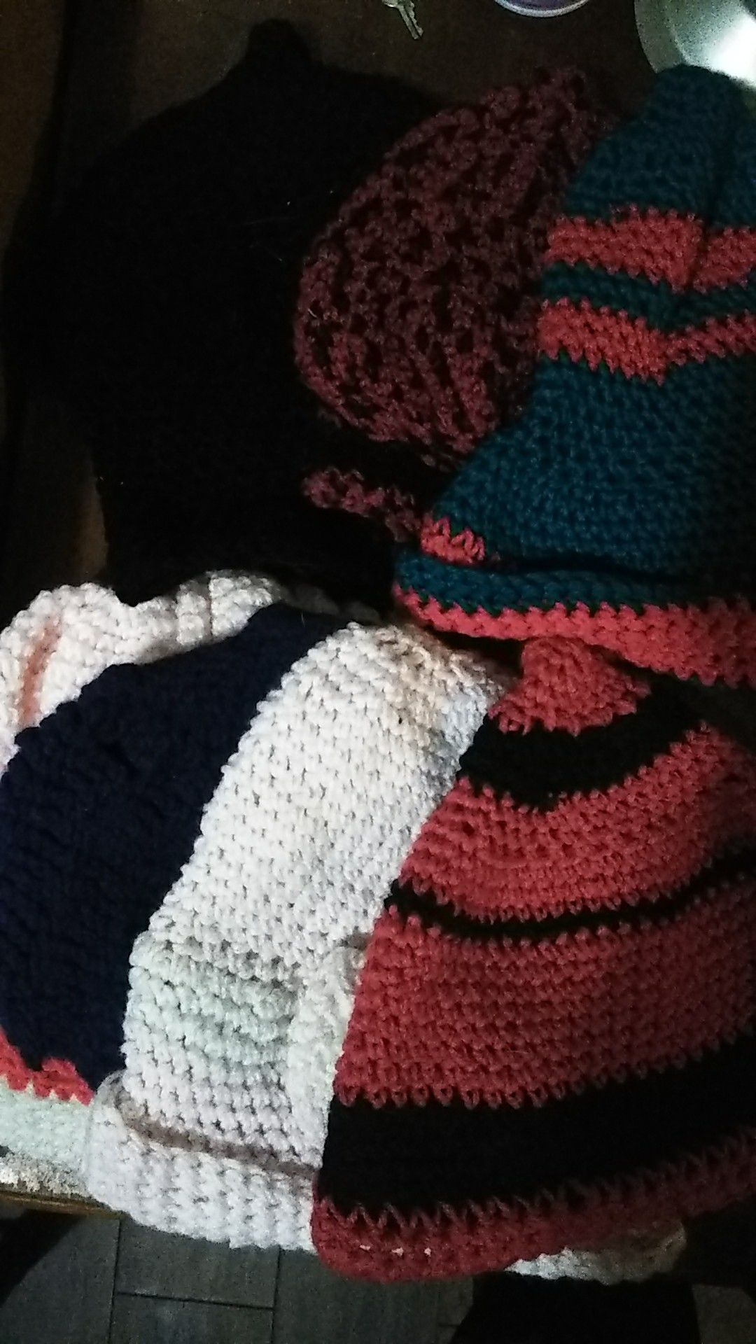 Crowshay beanies 5$ dog sweaters 10$ a piece