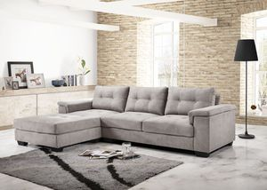 Gray Sectional sofa couch for Sale in Baltimore, MD