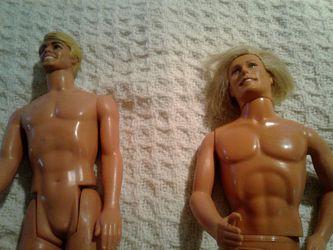 2 Mattel Ken dolls Thumbnail