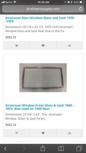 Airstream argosy Front square glass window for Sale in Atlanta, GA