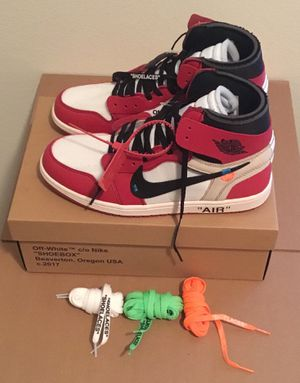 cfaff593aff430 Off-White x Nike Air Jordan 1 Chicago Retro High for Sale in Atlanta