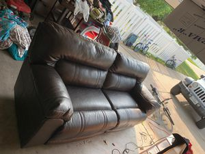 New and Used Leather couch for Sale in Austin, TX - OfferUp