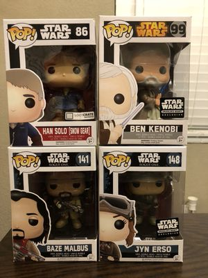 Star Wars Funko Pop Lot (includes exclusives) for Sale in Miami, FL