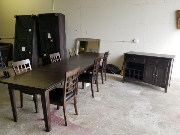 Dining Set 6 Chairs And Buffet For Sale In Everett Wa