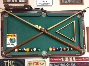 Billiards Pool Table Man Cave Art For Sale In Oakley CA OfferUp - Big 5 pool table