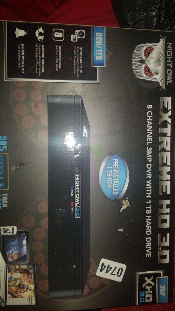 Night owl extreme HD 3 0 for Sale in Manteca, CA - OfferUp