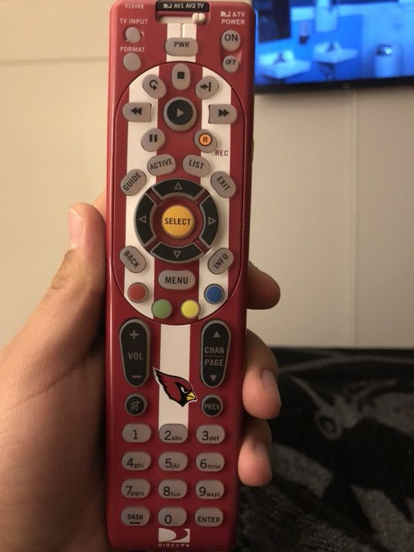 Arizona cardinals direct tv universal remote for Sale in Albuquerque, NM -  OfferUp