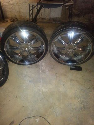26 inch rims for Sale in Philadelphia, PA