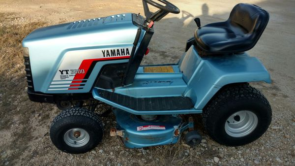 Yamaha Shaft Driven Lawn Tractor Mower For Sale In Belton