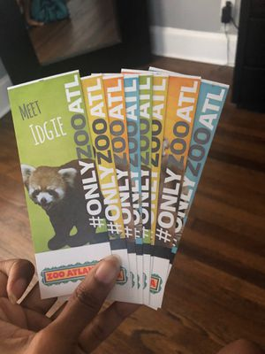 Zoo Atlanta Tickets!!! for Sale in Atlanta, GA