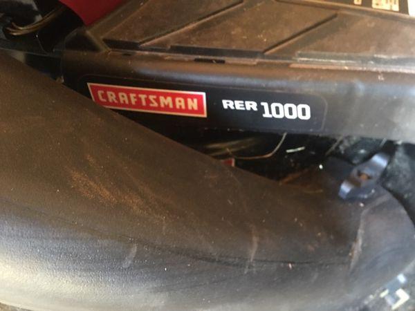 Craftsman RER 1000 30 in deck lawn tractor