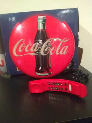 Coca cola disk telephone for Sale in Westminster, MD
