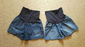 2 size Large Maternity Shorts for Sale in Charles Town, WV