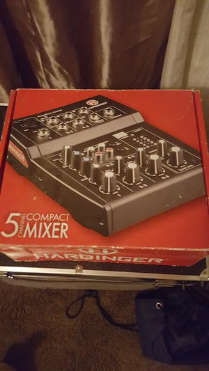 Harbinger 5-channel mixer runs great like for Sale in Columbus, OH