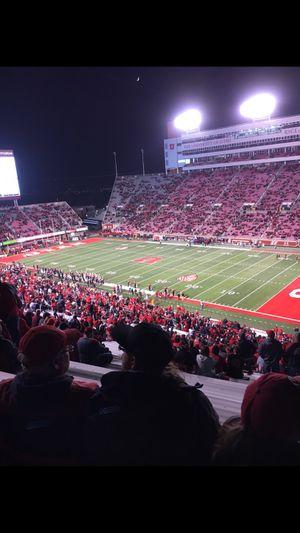 2 tickets Utah vs BYU football 11/24 @ rice eccels for Sale in Murray, UT