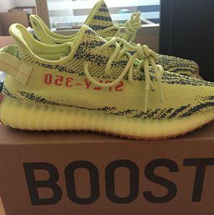 Photo Adidas Yeezy Boost 350 V2 Semi Frozen Yellow 2018 Shoes - New w/ box
