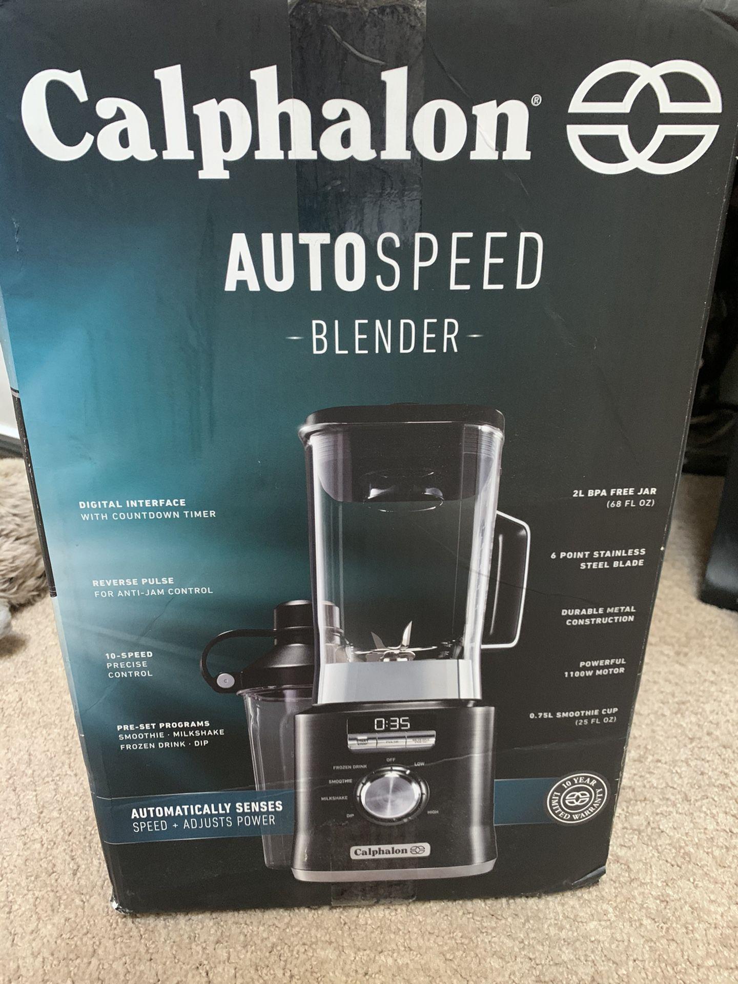 NEW/UNOPENED Calphalon Auto Speed Blender