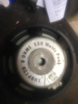 12 inches 550 watts for Sale in Boston, MA
