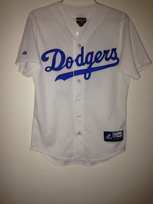 L. A. Dodgers Jackie Robinson Brand Majestic Cooperstown Collection Size S Small Great Condition for Sale in Reedley, CA