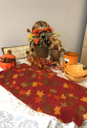 Collection of fall Decour for Sale in St. Louis, MO