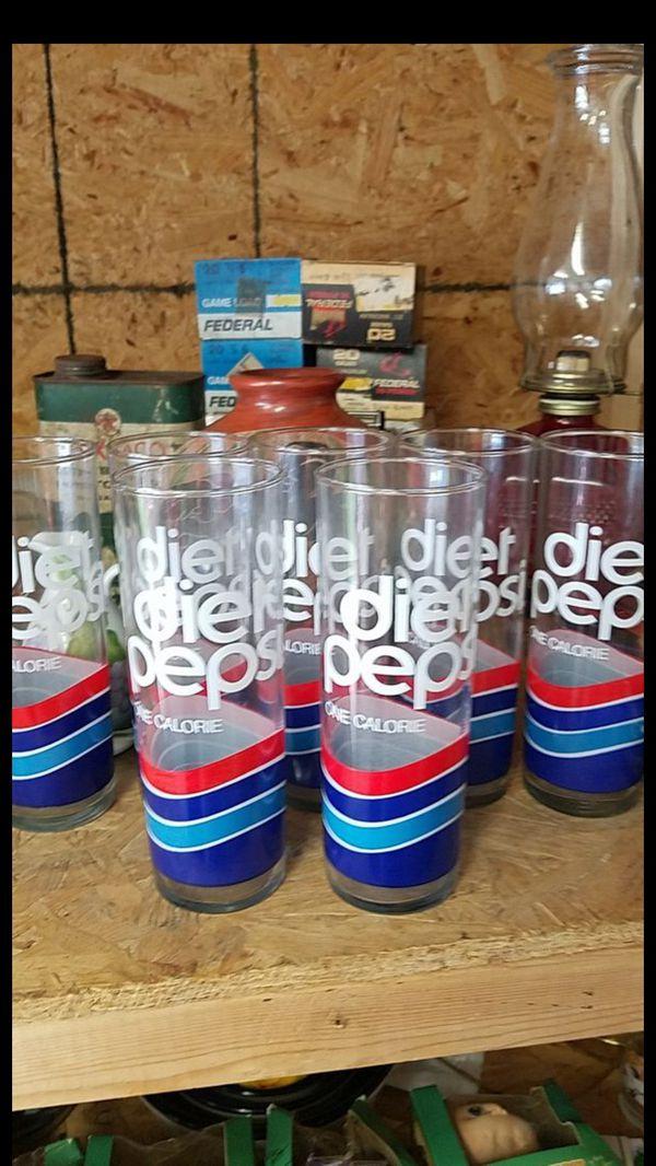 7 Diet Pepsi One Calorie Glasses Diet Pepsi One Calorie Glasses