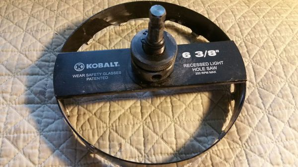 Kobalt 6 38 recessed light hole saw bit for sale in laurel md kobalt 6 38 recessed light hole saw bit for sale in laurel md offerup mozeypictures Choice Image