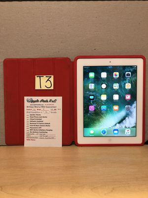 T3 - iPad 4 128GB Cell-ATT for Sale in Los Angeles, CA