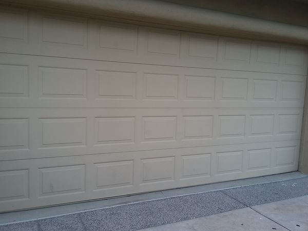 Used Garage Door 16x7 Good Condition For Sale In San Tan Valley Az