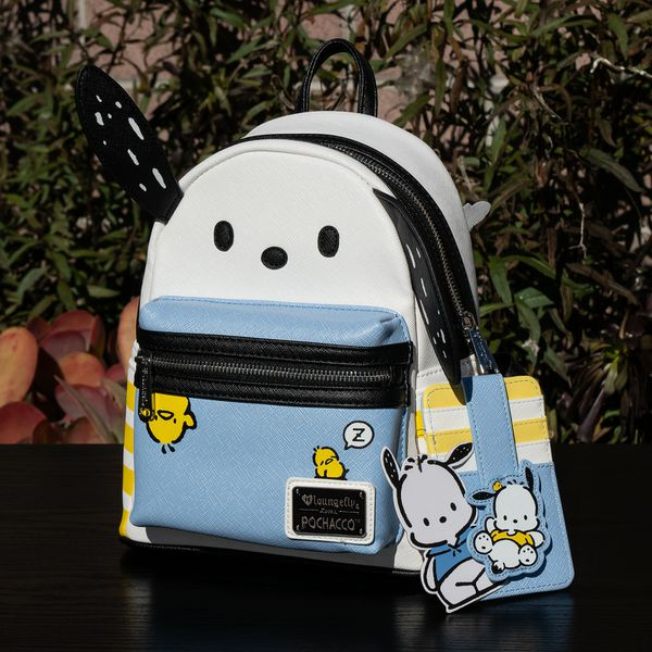0188415df ... loungefly sanrio pochacco mini backpack cardholder boxlunch exclusive  ...