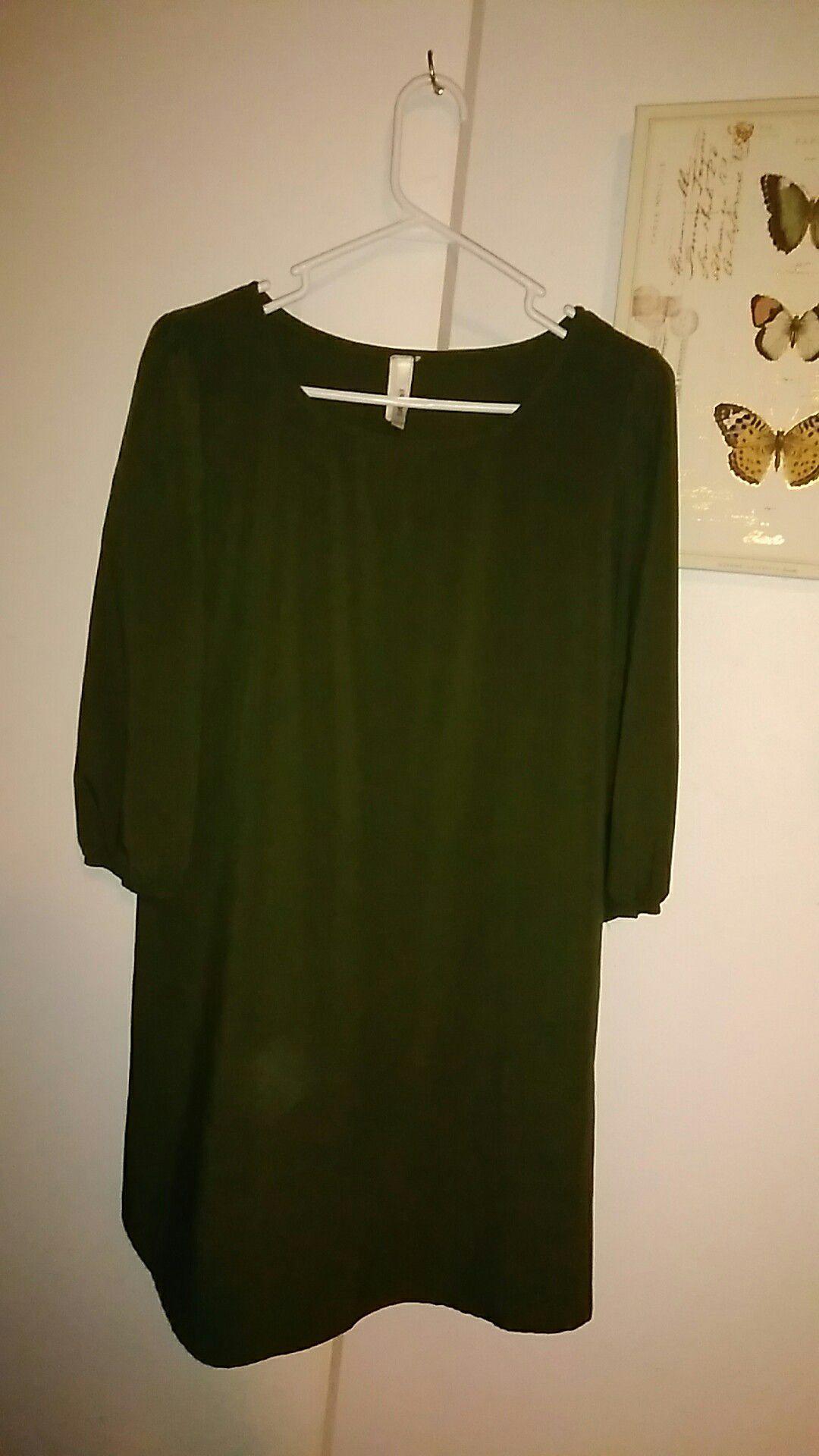 Brenda's Forest Green Dress
